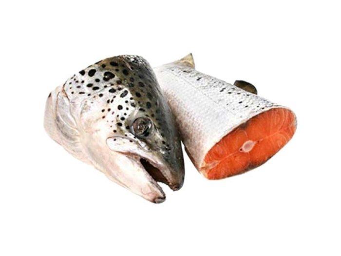 Суповой набор лосось с/м (голова, хвост, хребет) Image