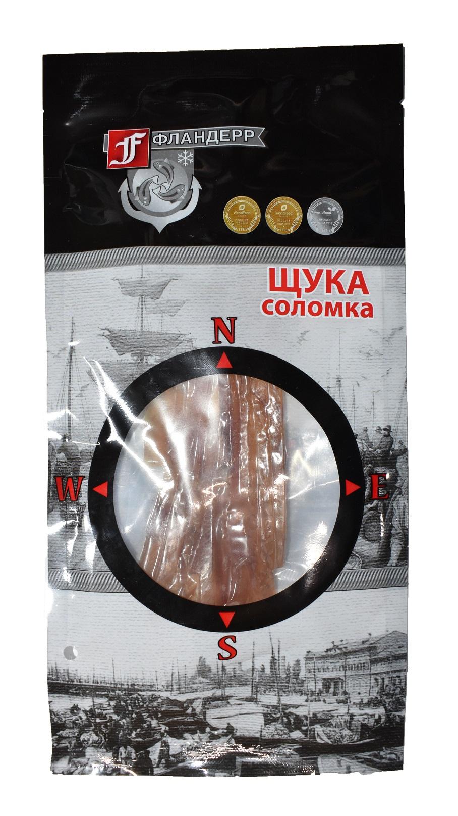 Щука соломка вяленая 50 г в/у Image