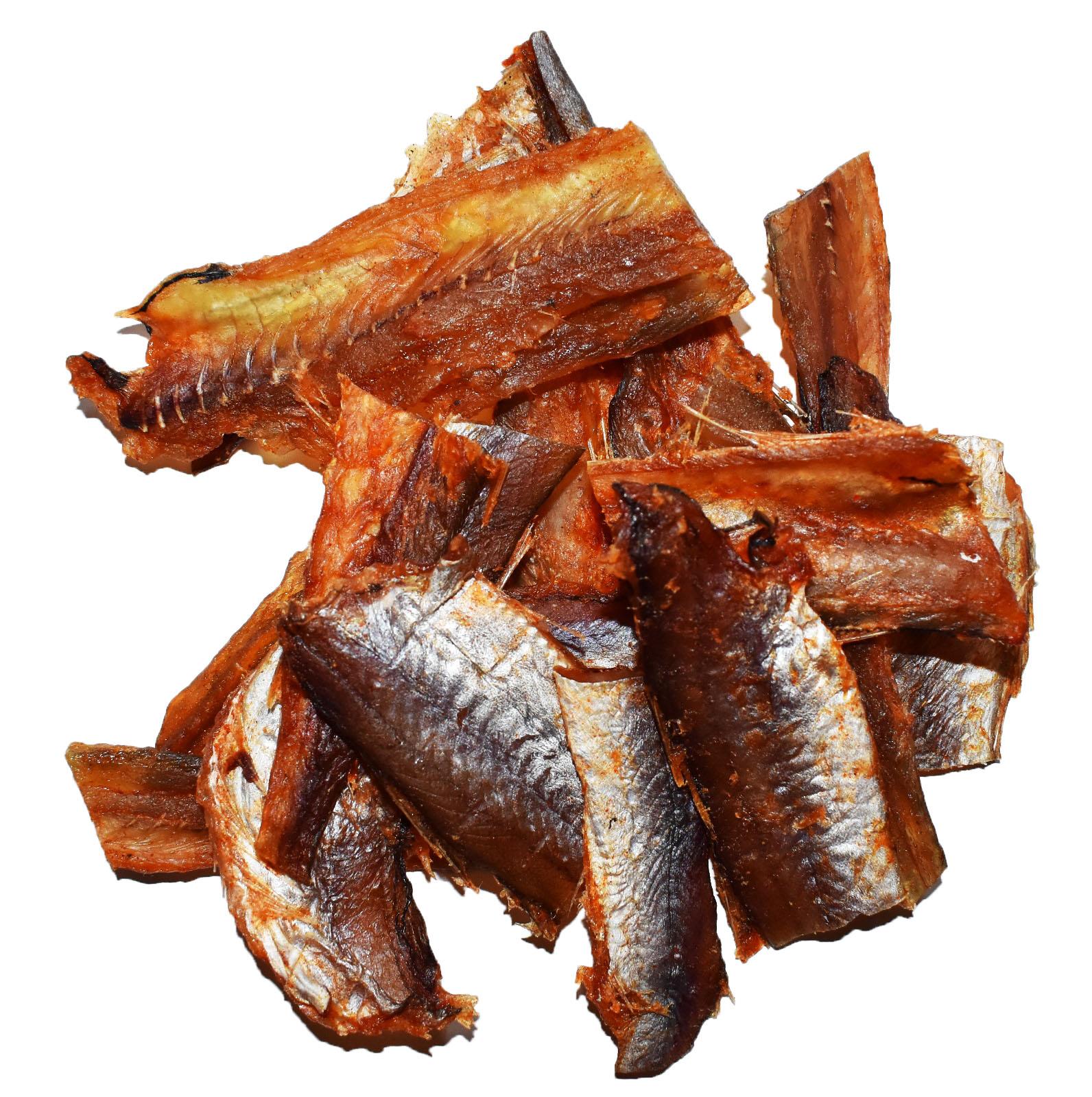 Янтарная рыбка кусочки с перцем Image