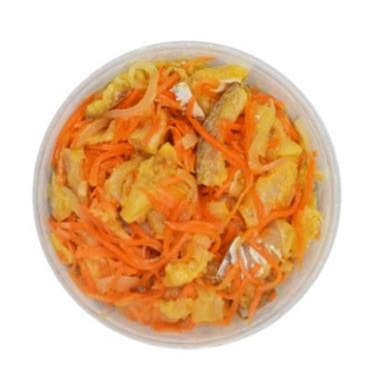 """Рыба """"Хе"""" из трески ведро 1 кг (масса основного продукта 630 г) (ОЧЕНЬ ВКУСНО) Image"""